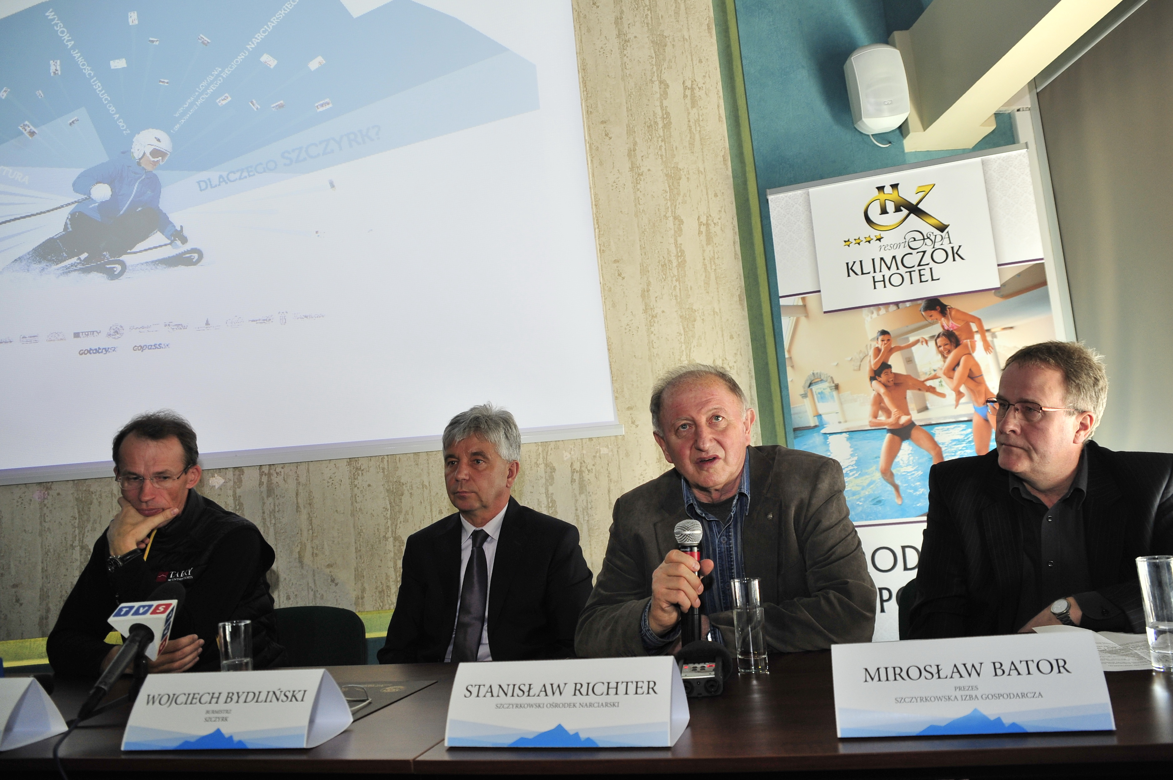 Konferencja prasowa Poczatek nowej ery w Szczyrk