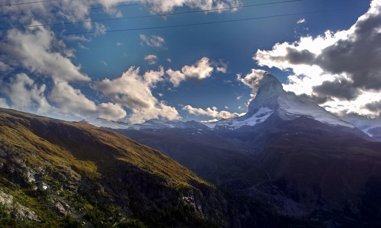 2.No i wreszcie on - Matterhorn 4478m npm