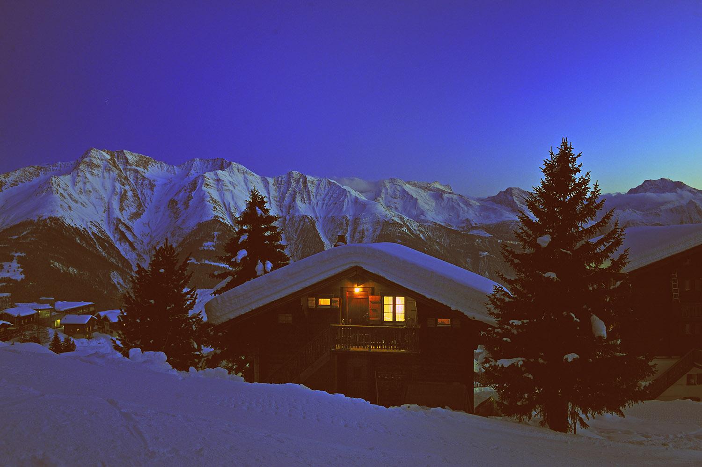 Wallis: Winter im Kanton Wallis