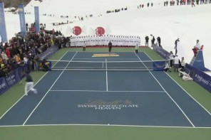Roger Federer vs. Lindsey Vonn – OFFICIAL #ChocolateHeaven Event