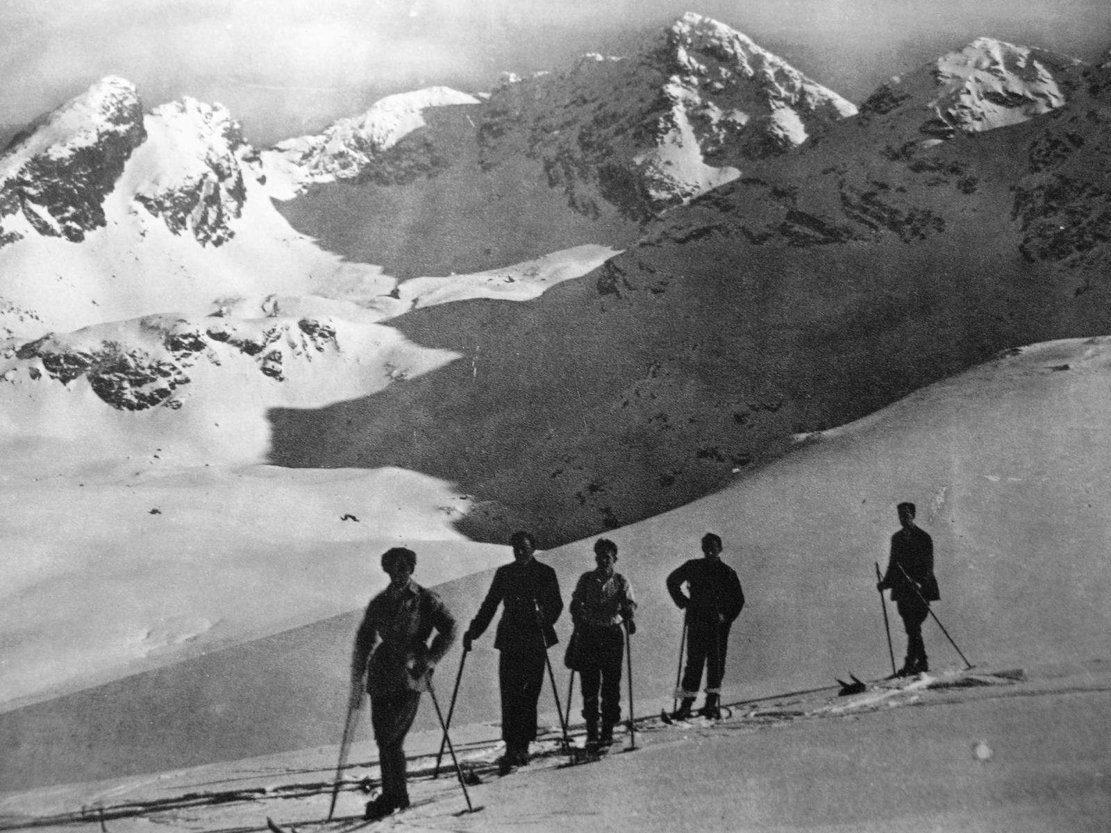 JO_Wycieczka narciarska na Hali Ga¦Ęsienicowej_Zdje¦Ęcia Jo¦üzia Oppenheima 010