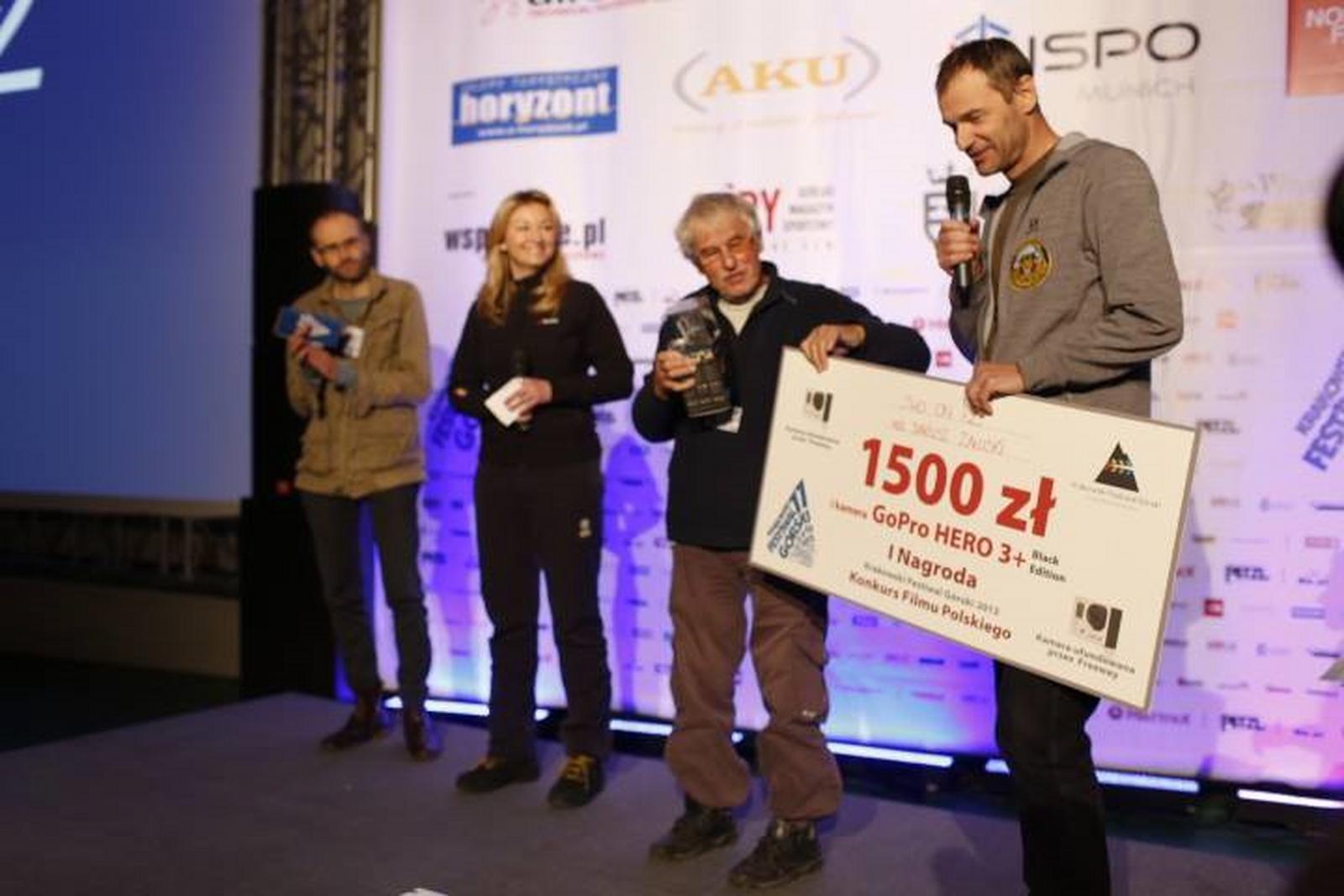 KFG_2013_Dariusz_Zaluski_odbiera_nagrode
