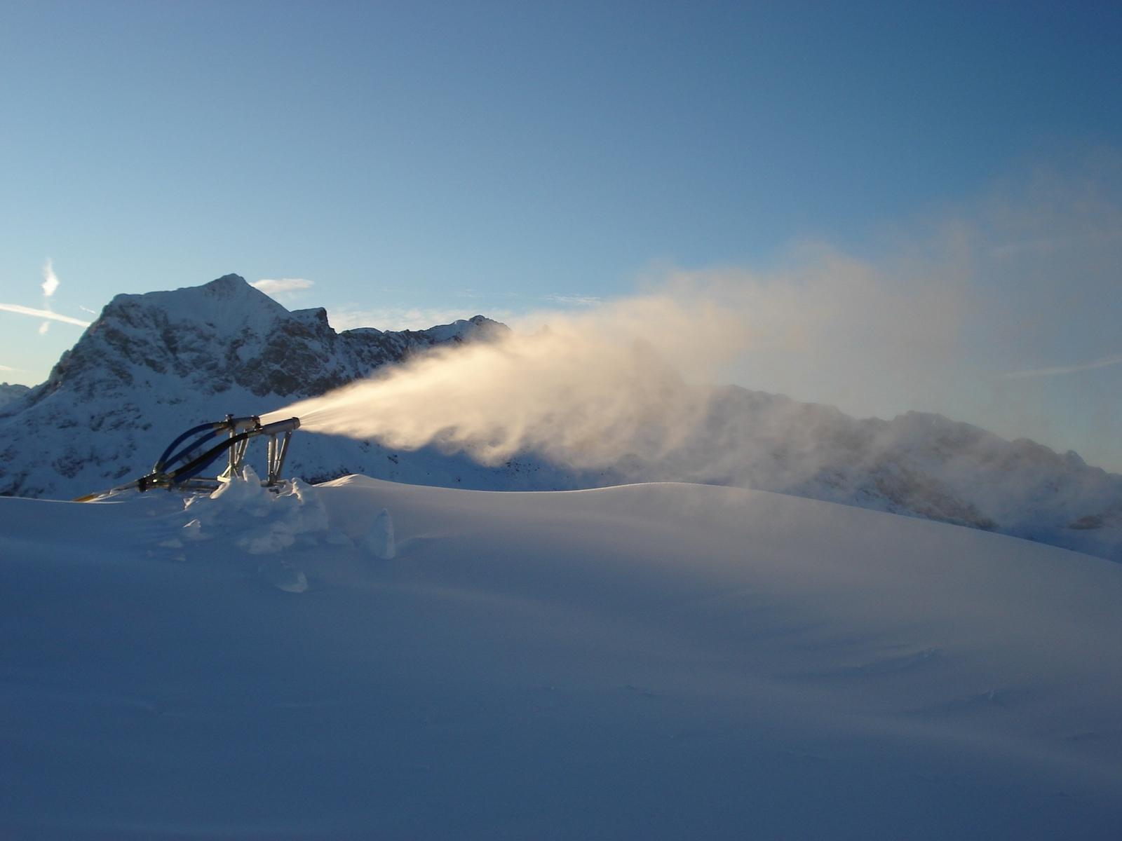 Skilifte Lech - Schneeanlage (8)