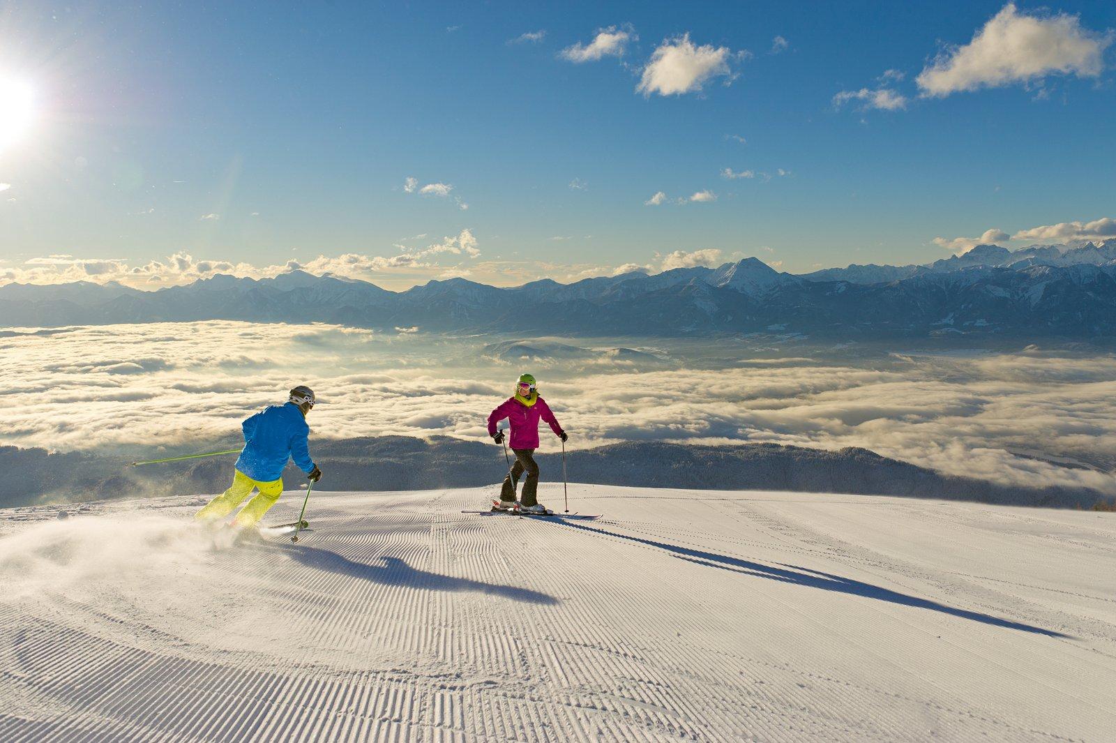 1-Kaernten Werbung_Gerlitzen Alpe_Skifahren_Franz Gerdl