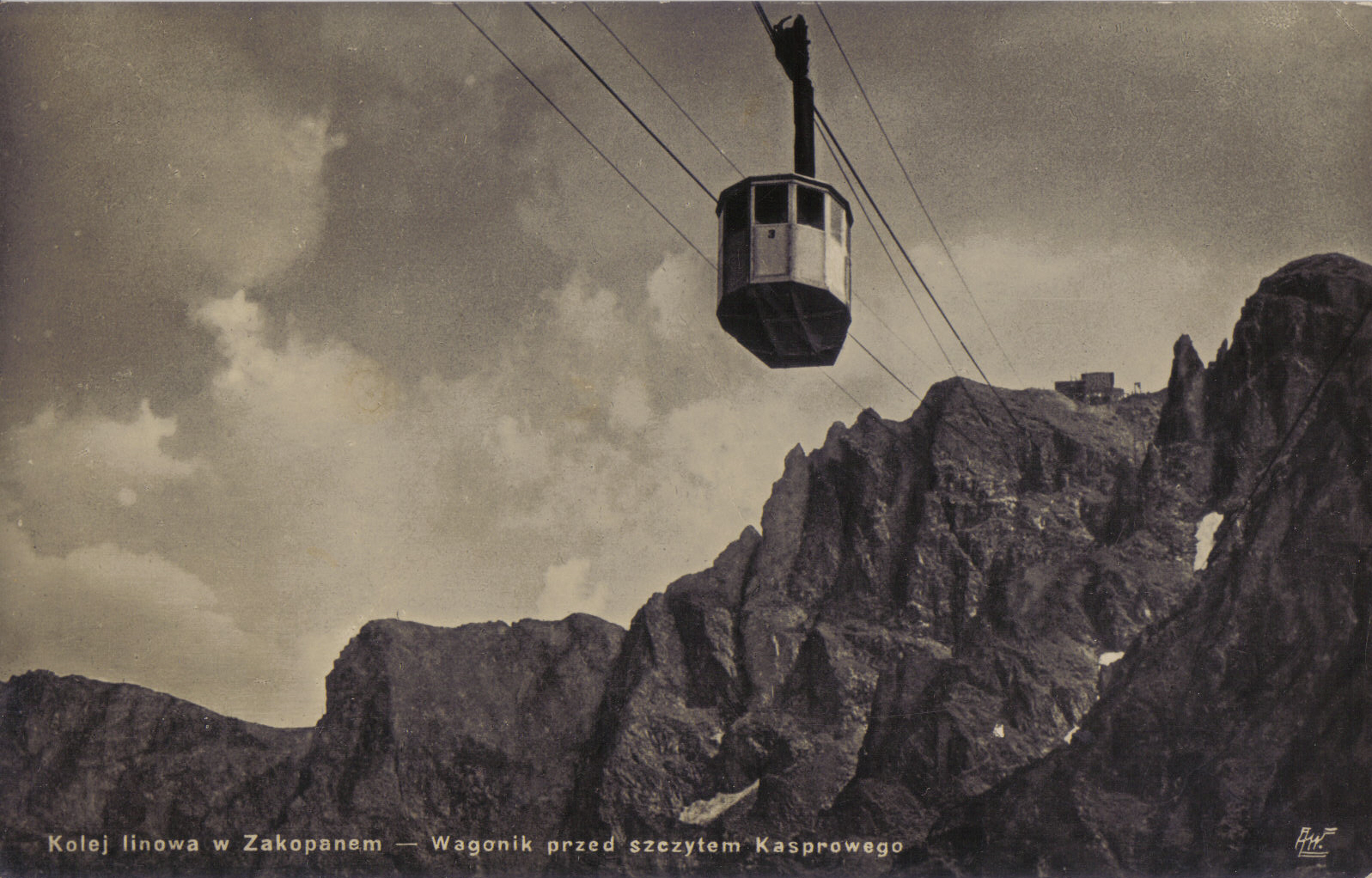 Kolejka na Kasprowy, fot. J. Wieczorek, poczt. (WS)