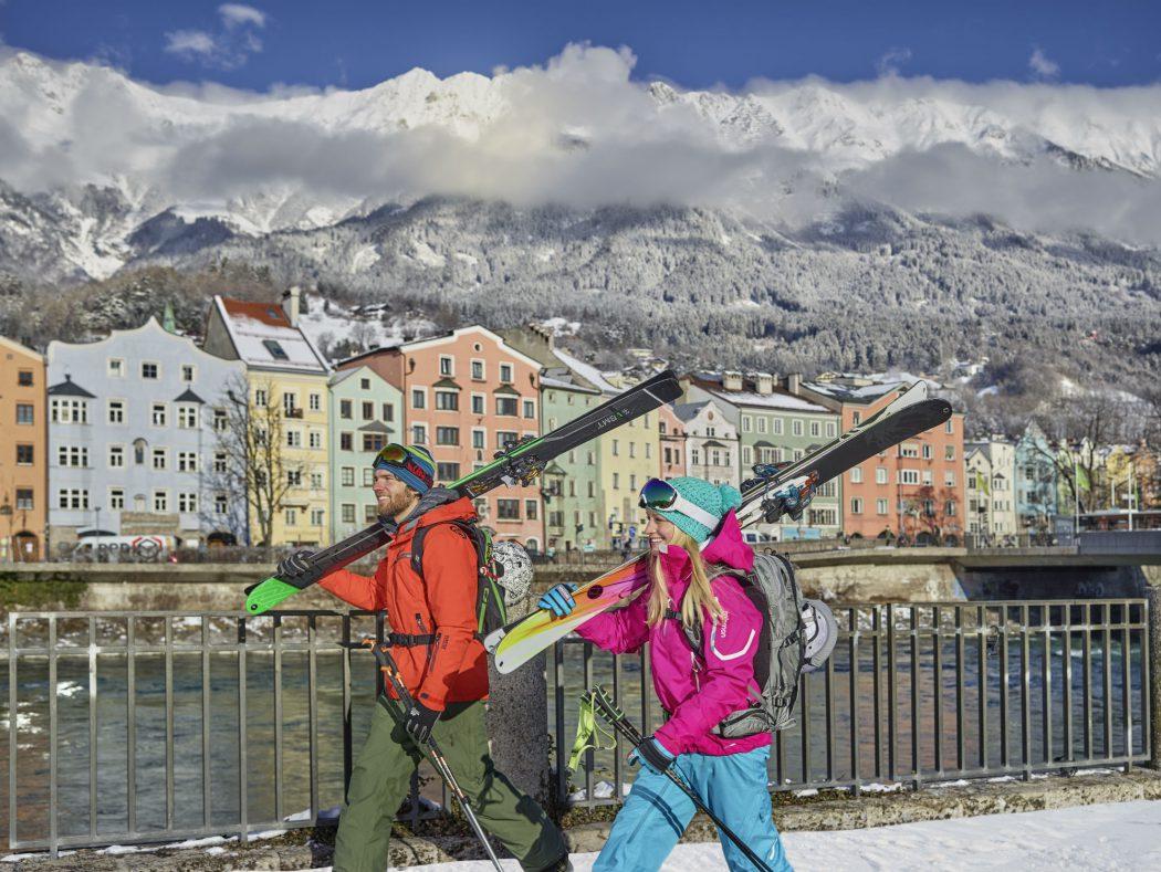 Winter in Innsbruck.