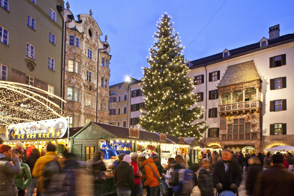 Christmas in Innsbruck.