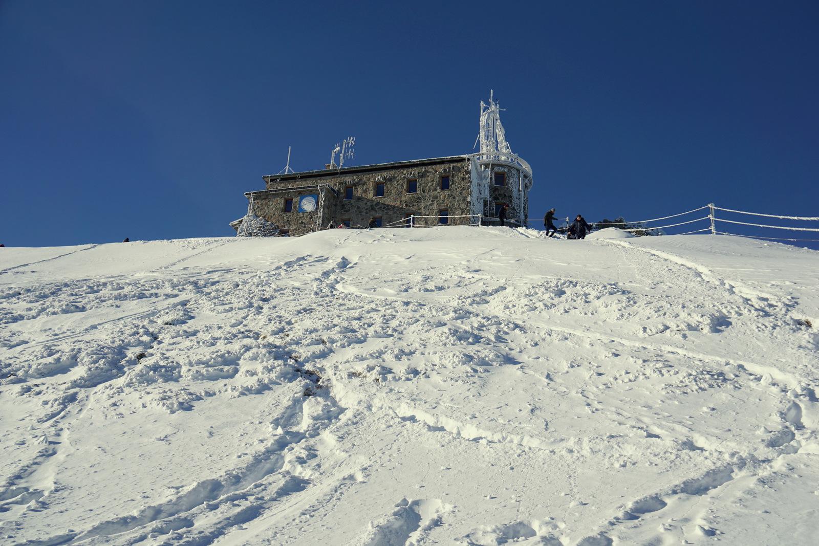 Obserwatorium Meteorologiczne na szczycie Kasprowego Wierchu