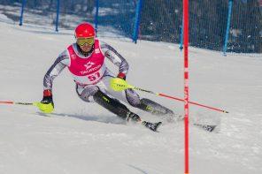 FIS ALPINE SKIING EUROPA CUP Slalom Men na Harendzie w obiektywie Macieja Jonka