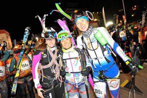 """Anna Tybor. Siódma w  Trofeo Mezzalama czyli zawodach skialpinistycznych z cyklu """"La Granda Couse""""."""