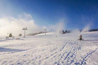 Zieleniec Ski Arena_armatki w ruch1