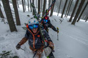 Wielka promocja Tatr, czyli o pobycie w Tatrach Aurélien'a Ducroz, dwukrotnego zwycięzcy Freeride World Tour