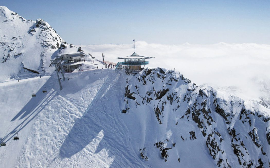 top-mountain-star-with-panoramic-views-ski-holidays-at-the-top-hotel-hochgurgl-in-the-oetz-valley-alps,-tyrol-austria