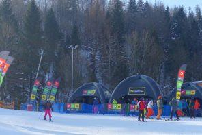 Prezentacja i testy nart Völkl i butów Dalbello na przyszły sezon narciarski.