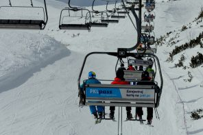 Kasprowy Wierch – warunki narciarskie 23.03.18.