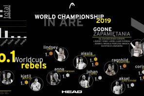 HEAD Worldcup Rebels – numer 1 Mistrzostw Świata w Narciarstwie Alpejskim.