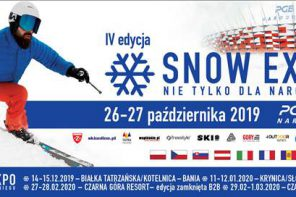 SNOW EXPO 2019 – zaproszenie na wydarzenie dla wielbicieli sportów outdoorowych.