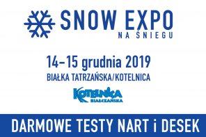 """""""SNOW EXPO na śniegu"""" – darmowe testy nart i desek."""